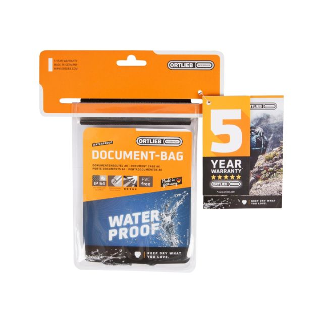 Ortlieb Waterproof Document Bag (A6)