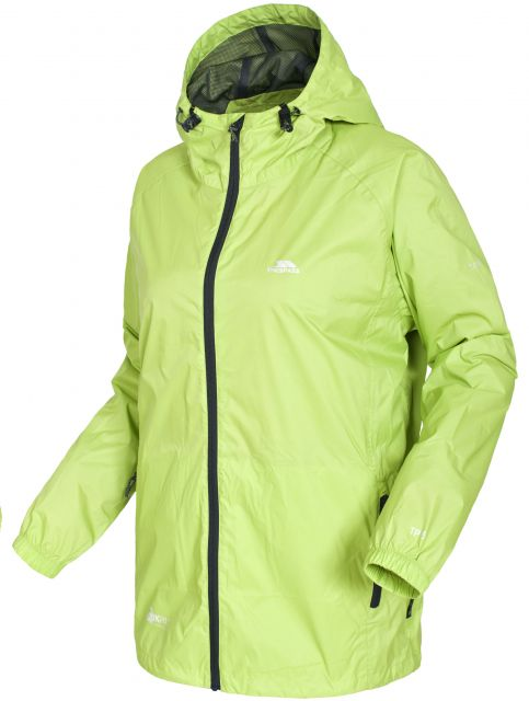 Trespass Unisex Qikpak Packaway Waterproof Jacket
