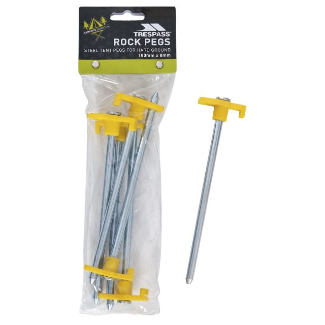 Trespass Rockie Camping Tent Pegs