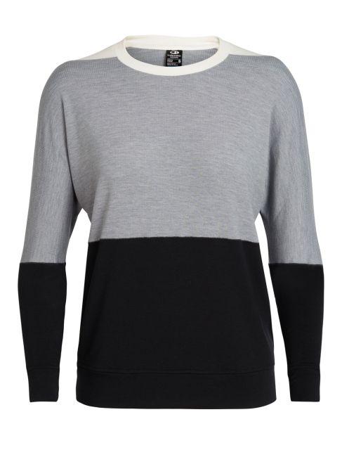 Icebreaker Womens Cool-Lite Momentum Crewe Sweater