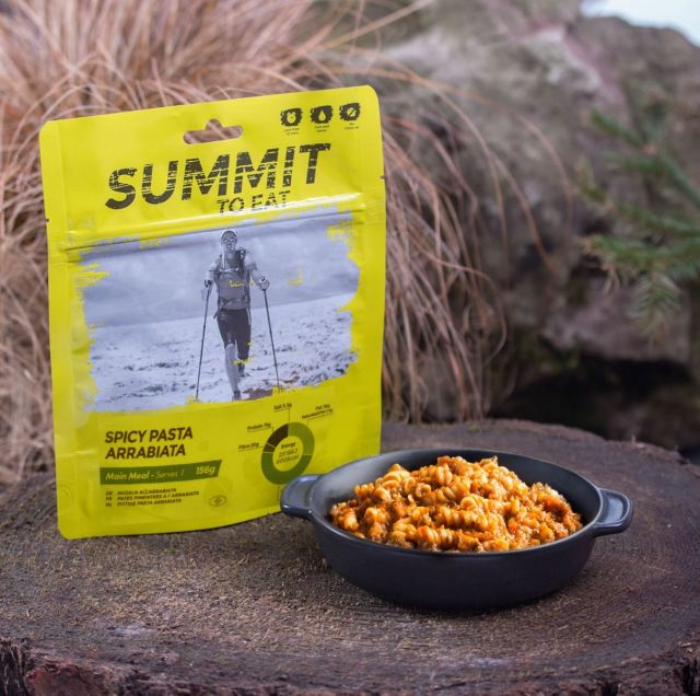 Summit To Eat Spicy Pasta Arrabiata Camping Food