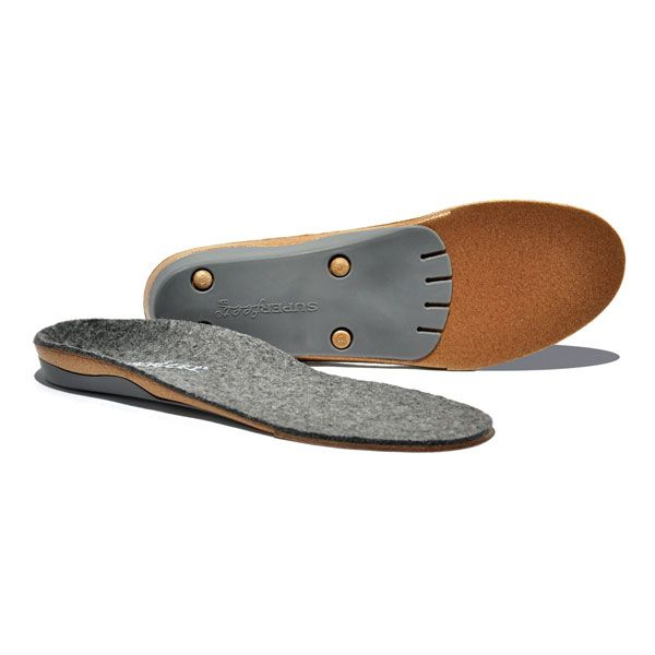 Superfeet Trim to Fit Merino Grey Insoles