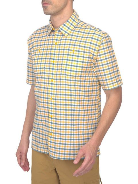 The North Face Mens Sand Short Sleeve Shirt