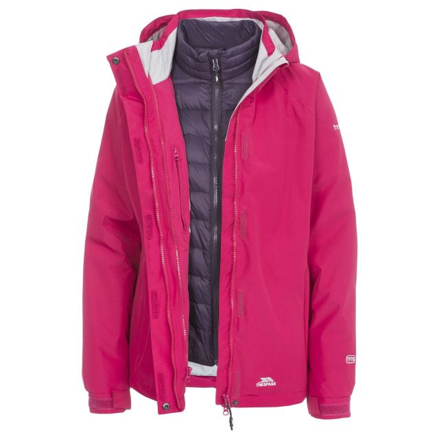 Trespass Women's Trailwind 3 in 1 Down Insulated Jacket