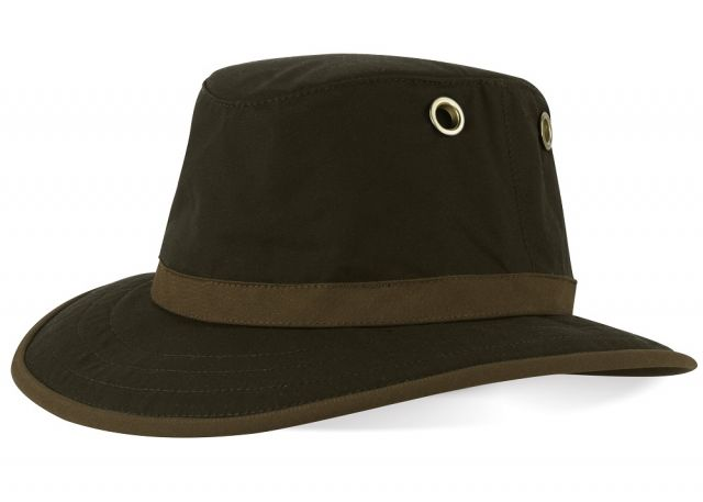 Tilley TWC7 Curved Brim Wax Cotton Hat