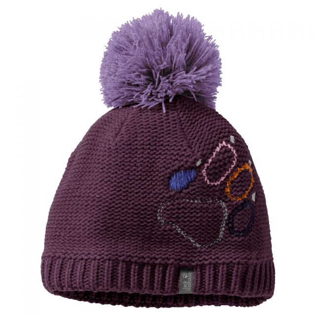 Jack Wolfskin Kids Paw Knit Bobble Hat