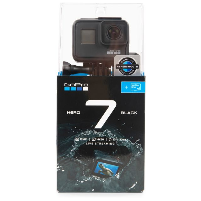 GoPro HERO7 Black +SD Action Camera