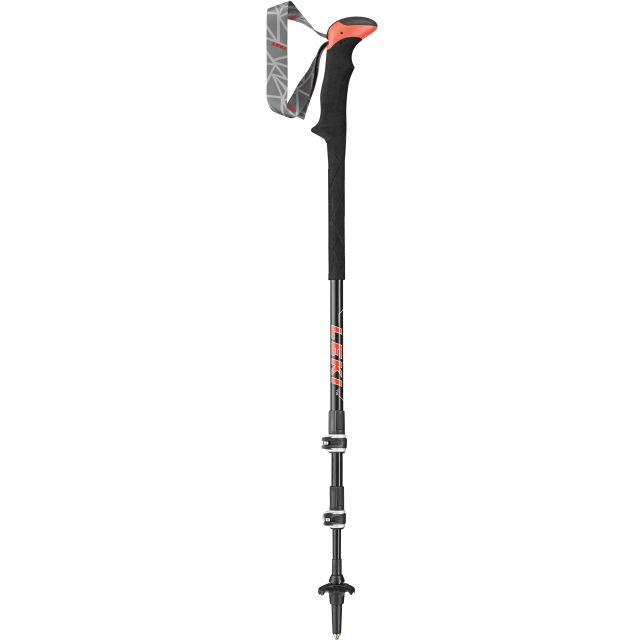 Leki Carbon TA XTG Adjustable Walking Poles (Pair)