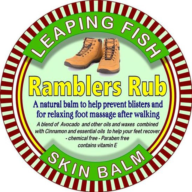 Leaping Fish Ramblers Rub 60g