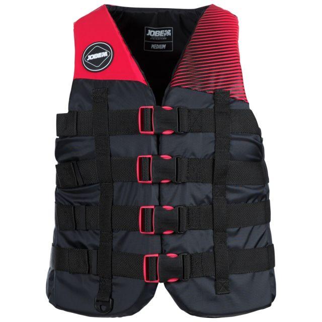 Jobe Adult Unisex 4 Buckle Hot Pink Life Vest