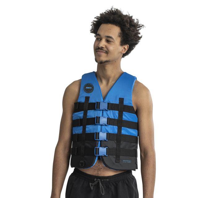 Jobe 4 Buckle Unisex Life Vest In Blue