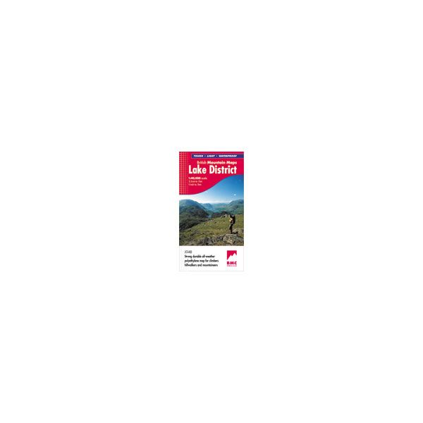 Harvey Lake District British Mountain Map