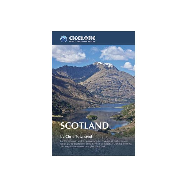 Cicerone Scotland Guide Book by Chris Townsend