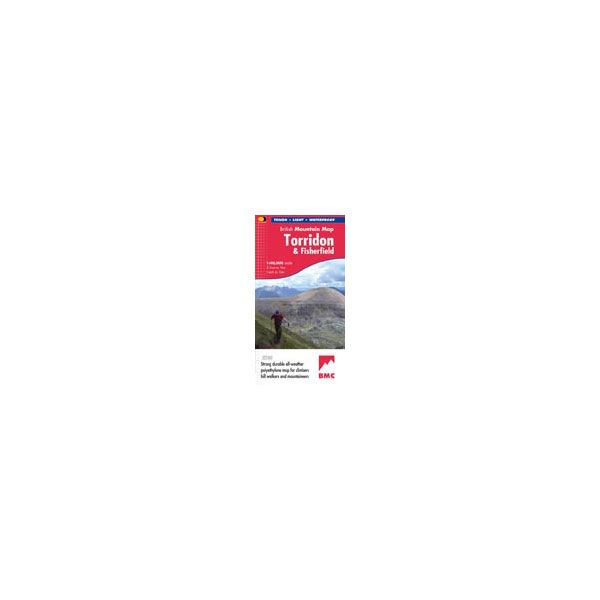 Harvey Torridon and Fisherfield British Mountain Map