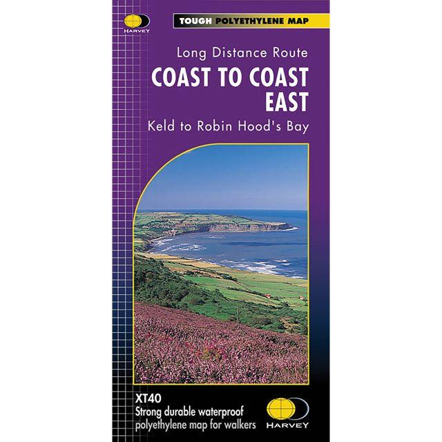 Harveys Coast To Coast East XT4 Map