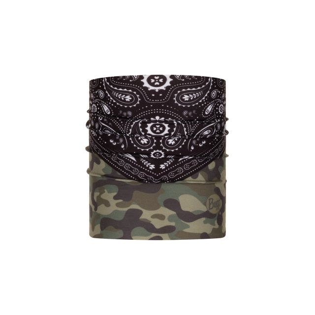 Buff Bandana for Dogs in Camo & Paisley Print