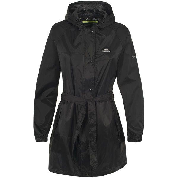 Trespass Women's Compac Waterproof Mac Jacket