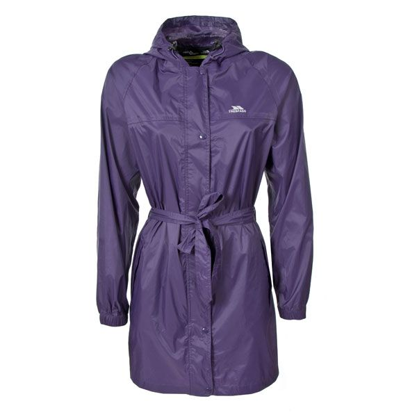 Trespass Womens Compac Mac Packaway Waterproof Jacket