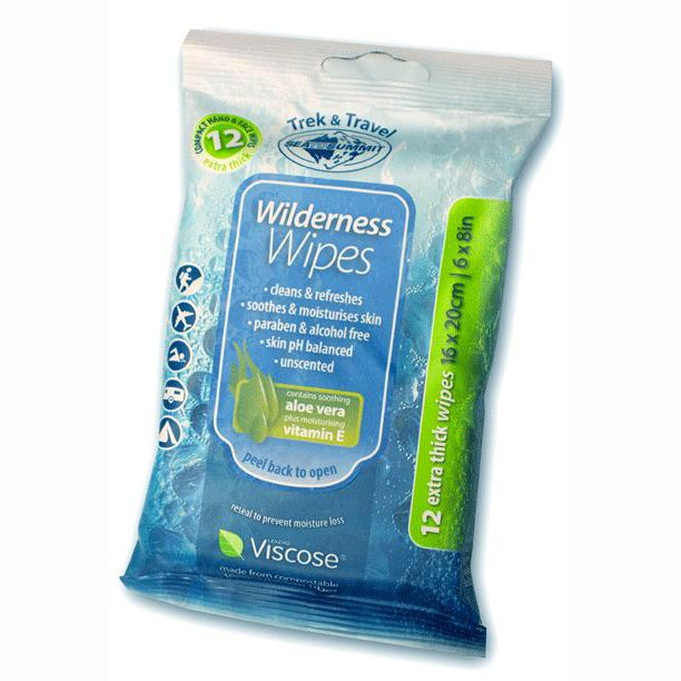 Sea to Summit Compostable Wet Wipes 12 Pack