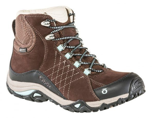 Oboz Sapphire Mid Bdry Womens Waterproof Walking Boots