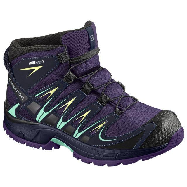 Salomon Kid's XA PRO 3D MID CSWP J Walking Boot