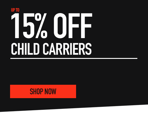 15% off child carriers
