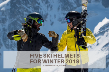 five ski helmets winter 2019