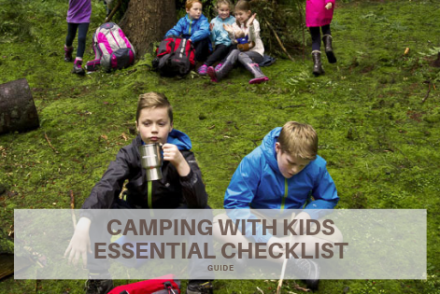 camping with kids essential checklist