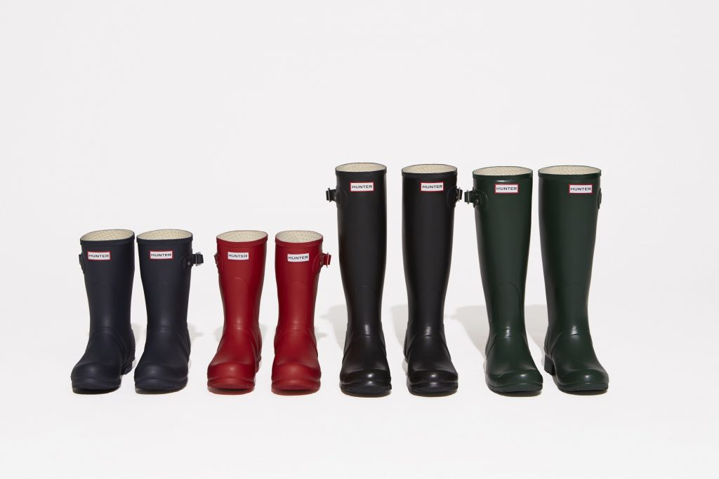 Hunter Wellies Size