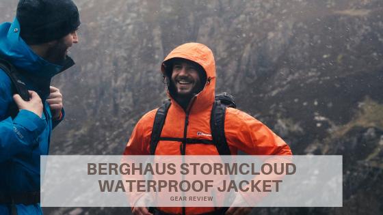 berghaus mens stormcloud waterproof jacket