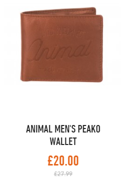 animal wallet m