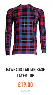bawbags tartan top