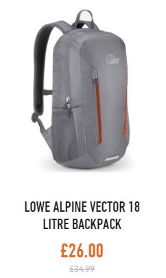 lowe alpine vector 18 backpack