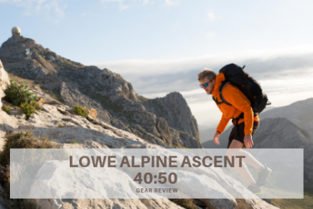 lowe apline ascent gear review staff 40.50