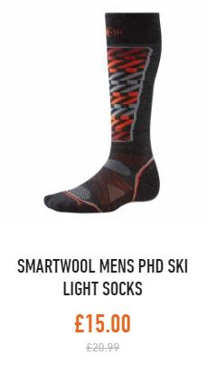 smartwool phd ski light socks mens