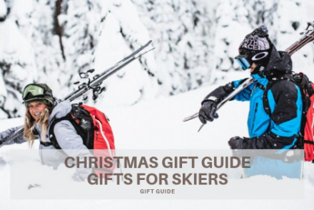 Christmas gift guide for skiers