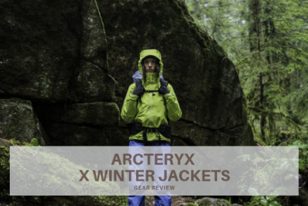 arcteryx winter jackets gear review