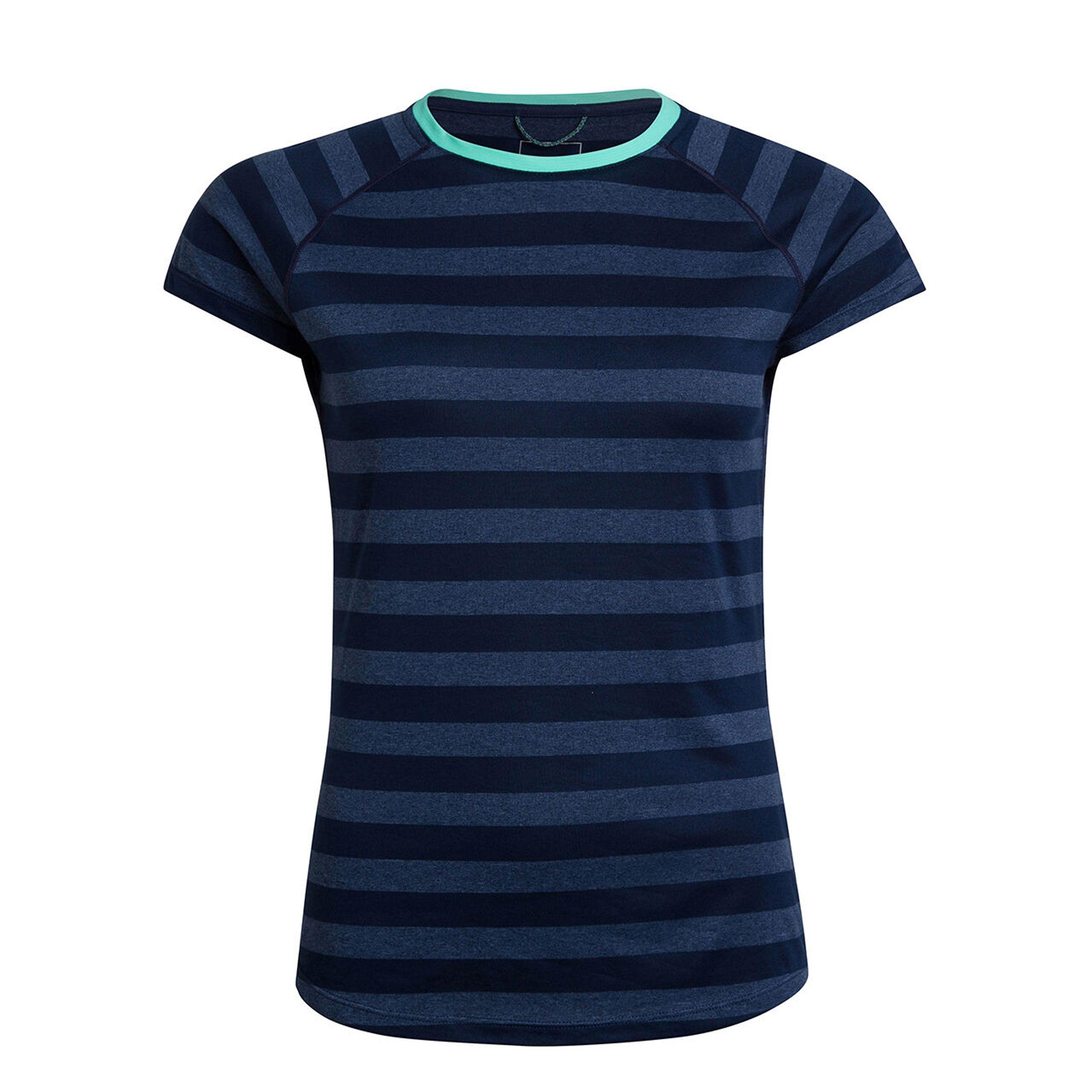 Berghaus Womens Stripe Technical Short Sleeve T-shirt 2.0