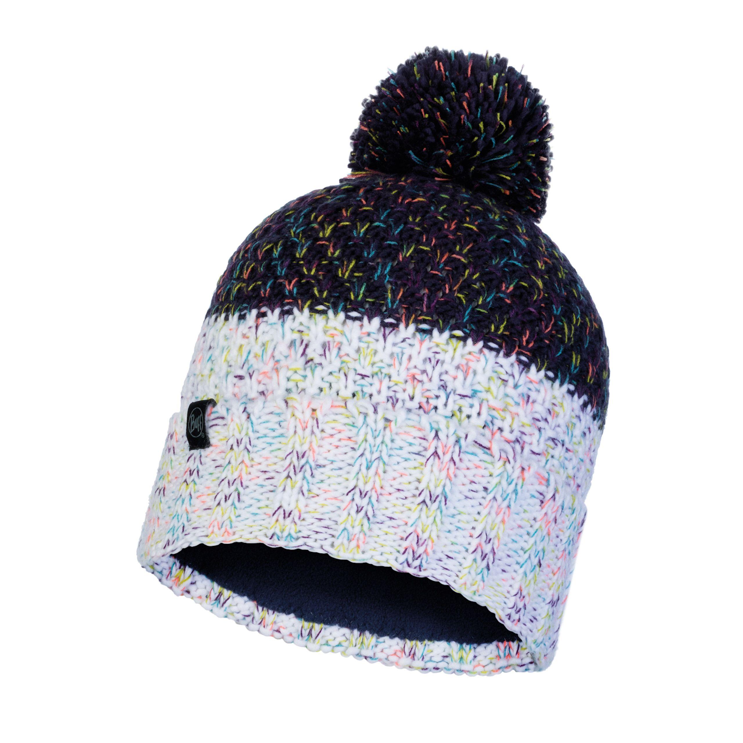 Buff Janna Night Blue Knitted Polar Hat
