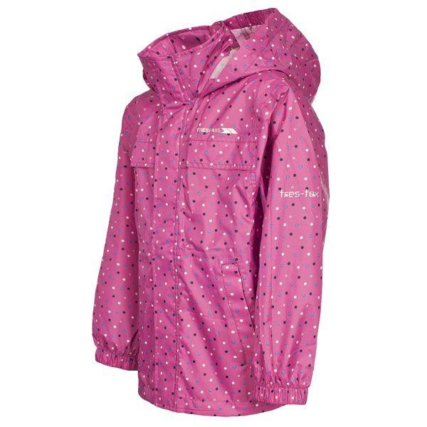 Trespass Kids Totam Packaway Waterproof Jacket