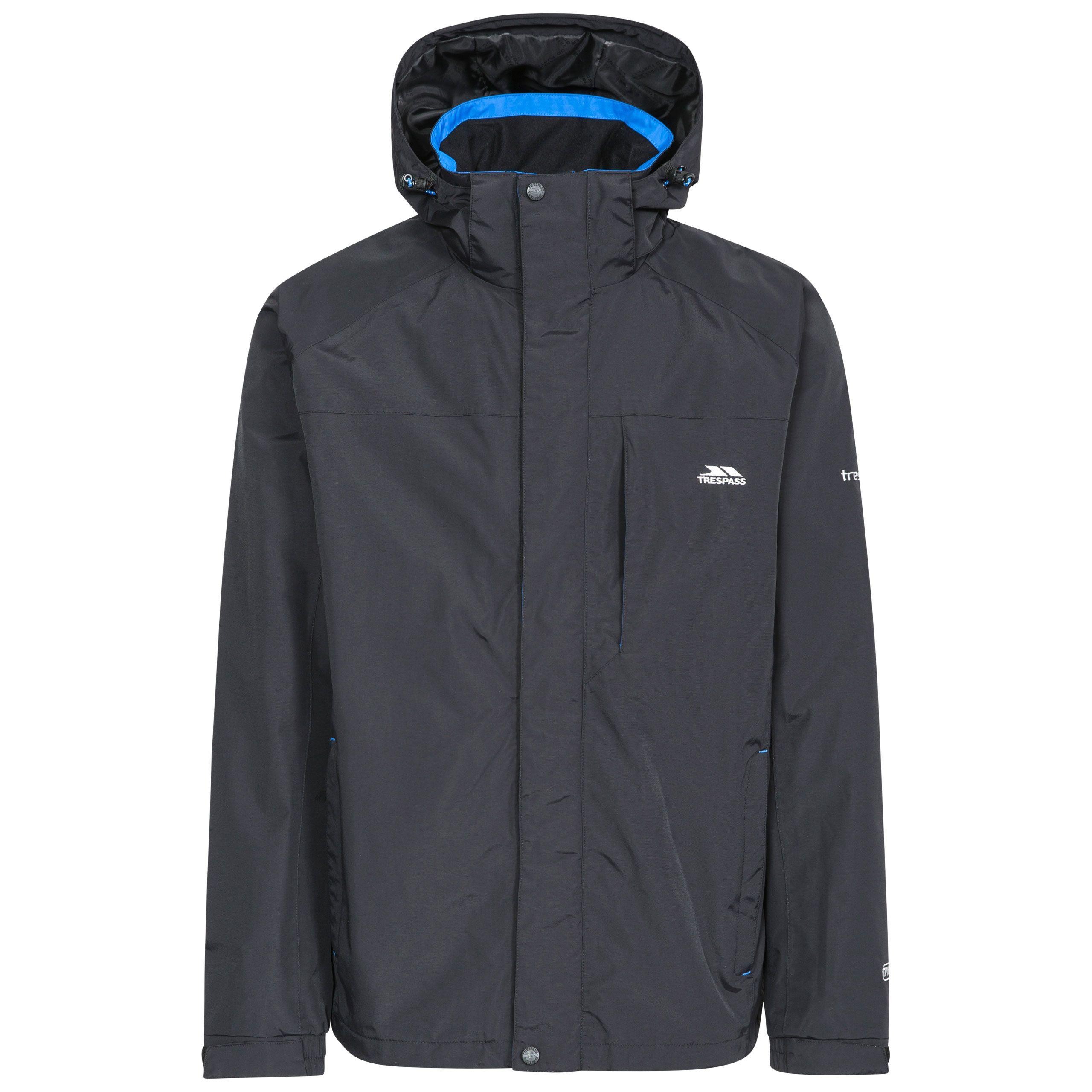 Trespass Mens Edwards Ii Tp75 Waterproof Jacket