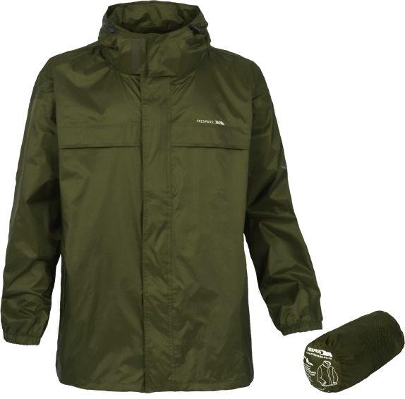Trespass Unisex Packaway Waterproof Jacket