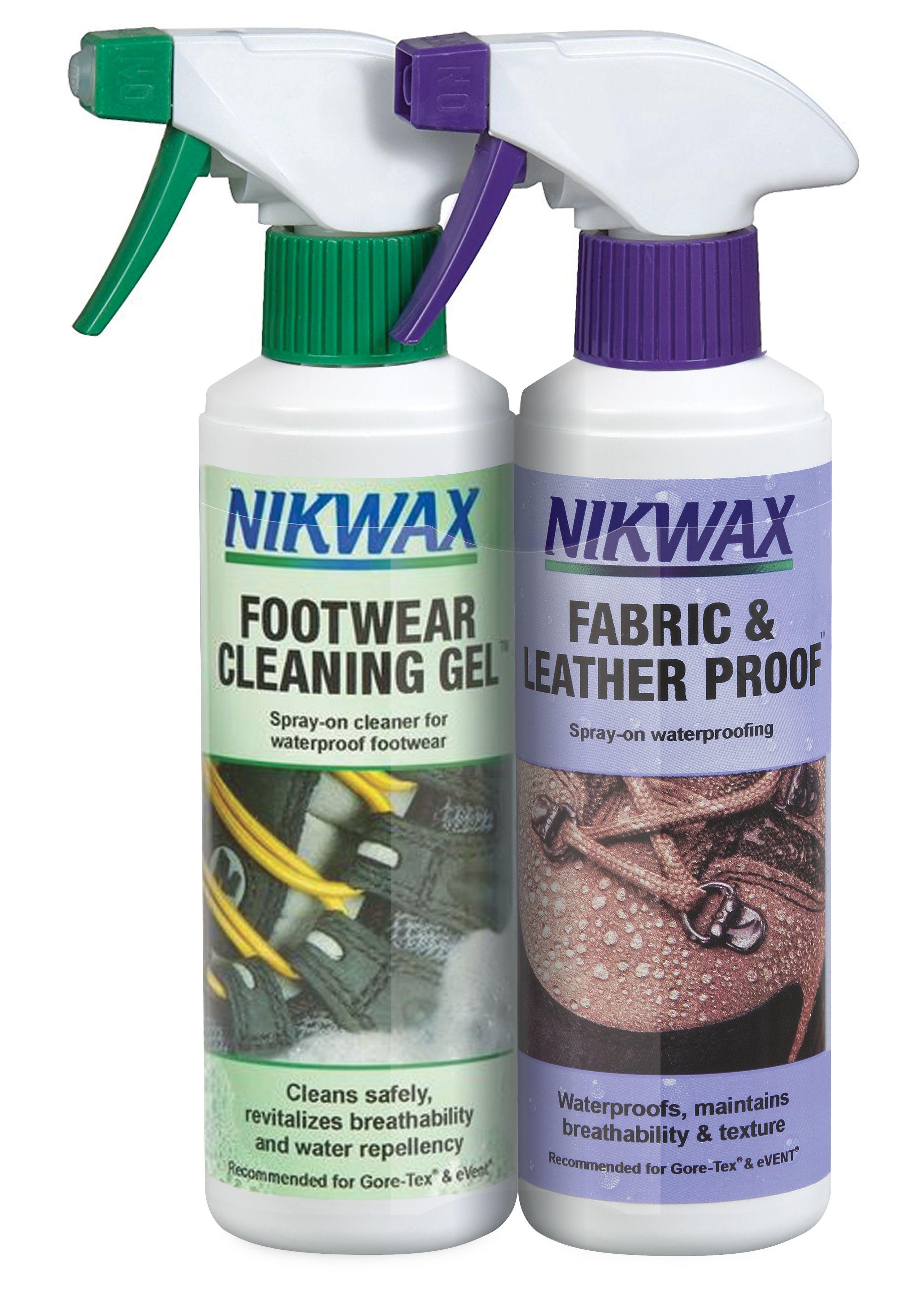 Nikwax Footwear Clean Proof Spray Twin Pack